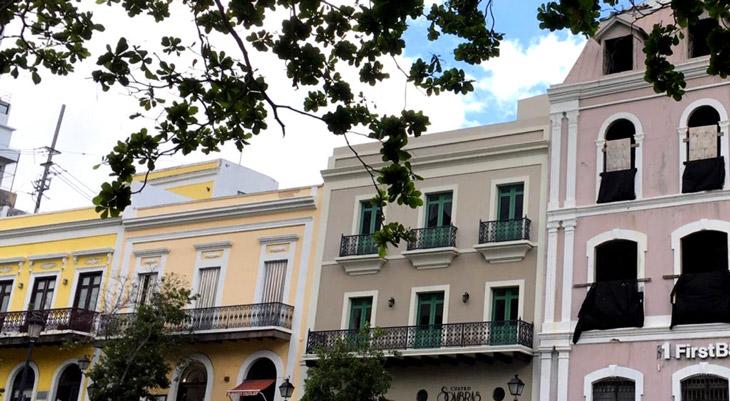 Human Advisors street Old San Juan